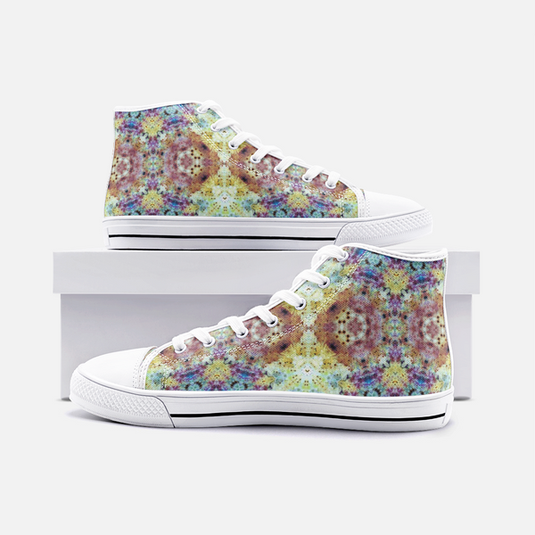 Conscious Psychedelic Canvas High-Tops