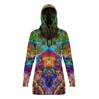 Unitas Collection Fleece-Lined Long Hoodie - Heady & Handmade