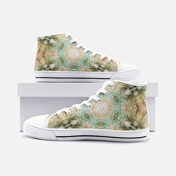 Amberwood Psychedelic Canvas High-Tops
