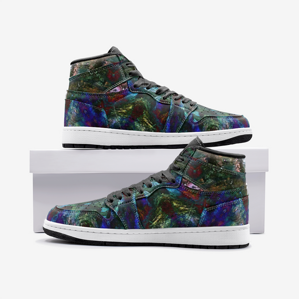 Azule Psychedelic Full-Style High-Top Sneakers