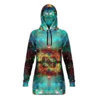 Archon Collection Fleece-Lined Long Hoodie - Heady & Handmade