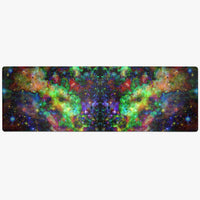 Kemrin Psychedelic Suede Anti-Slip Yoga Mat