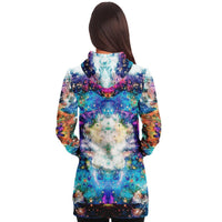 Acquiesce Apothos Collection Fleece-Lined Long Hoodie - Heady & Handmade
