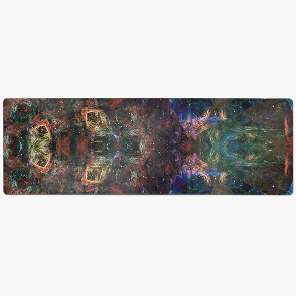 Prismyx Psychedelic Suede Anti-Slip Yoga Mat