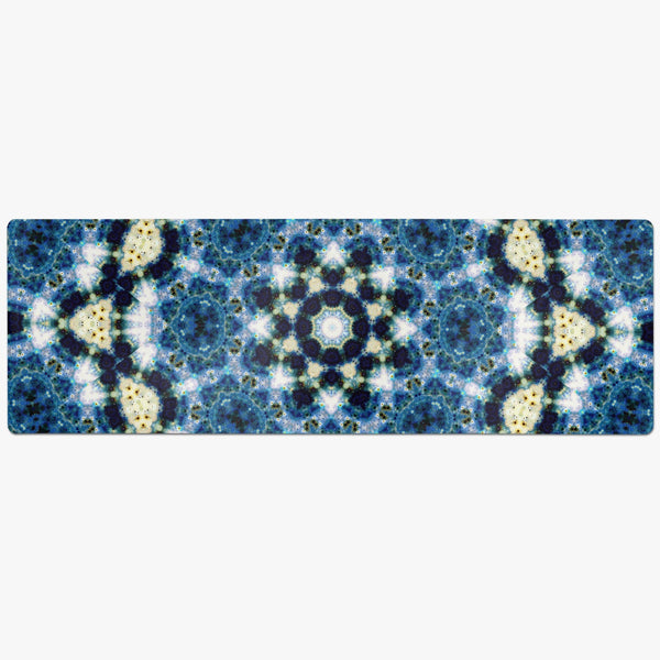 Kithin Psychedelic Suede Anti-Slip Yoga Mat