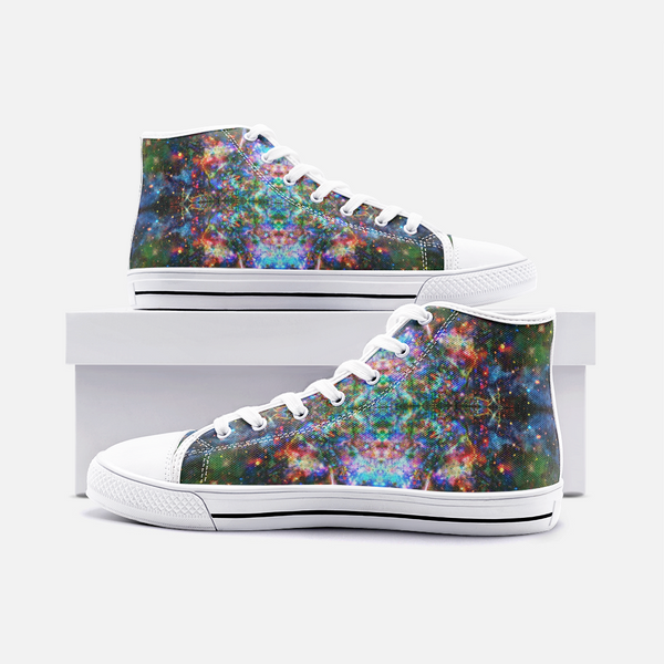 Oriarch Psychedelic Canvas High-Tops