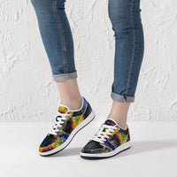 Nox Glow Psychedelic Split-Style Low-Top Sneakers