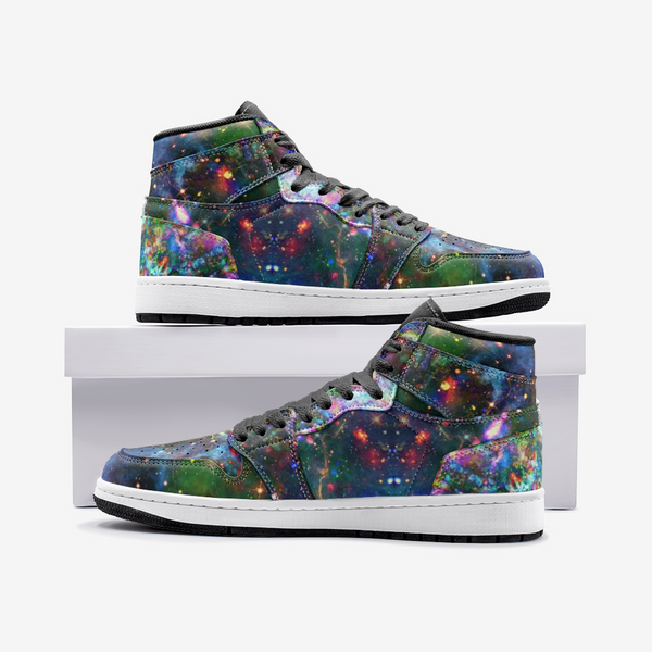 Oriarch Psychedelic Full-Style High-Top Sneakers