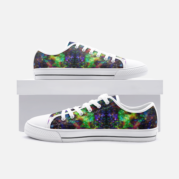 Kemrin Psychedelic Canvas Low-Tops