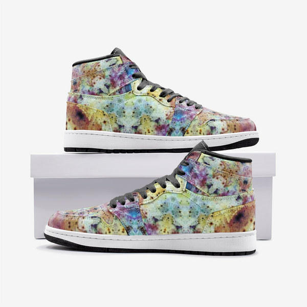 Conscious Psychedelic Full-Style High-Top Sneakers