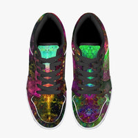 Lilith Psychedelic Split-Style Low-Top Sneakers