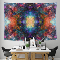 Fortuna Collection Tapestry / Festival Flag - Heady & Handmade