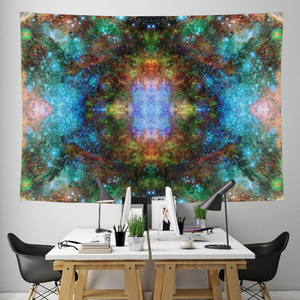 Fortuna Shift Collection Tapestry / Festival Flag - Heady & Handmade