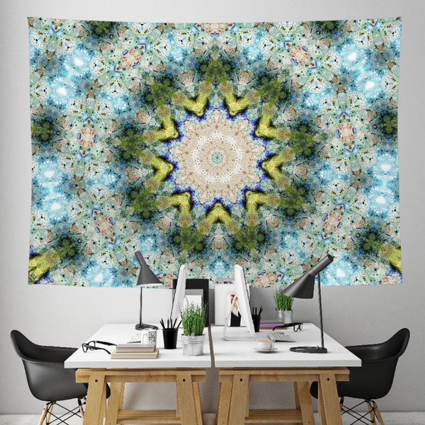 Freya Collection Tapestry / Festival Flag - Heady & Handmade