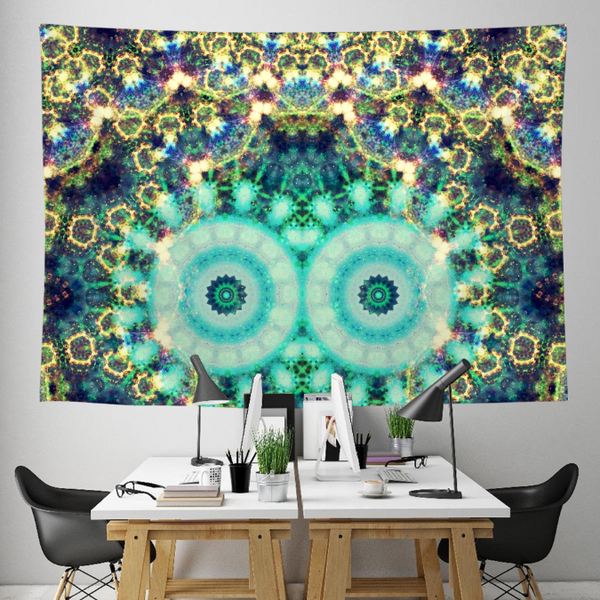 Frostchild Collection Tapestry / Festival Flag - Heady & Handmade
