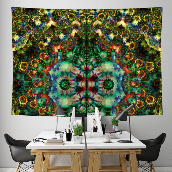 Gazer Collection Tapestry / Festival Flag - Heady & Handmade