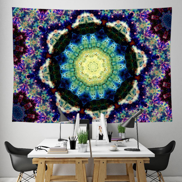 Gilean Collection Tapestry / Festival Flag - Heady & Handmade