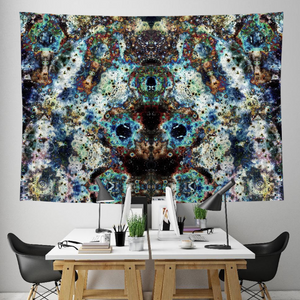 Lunix Collection Tapestry / Festival Flag - Heady & Handmade