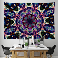 Lyrical Collection Tapestry / Festival Flag - Heady & Handmade