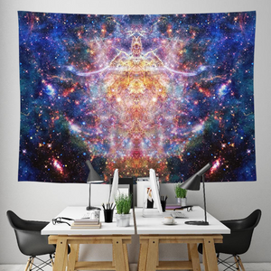 Niari's Shadow Collection Tapestry / Festival Flag - Heady & Handmade