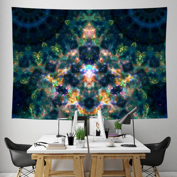 LOL Starfish Collection Tapestry / Festival Flag - Heady & Handmade