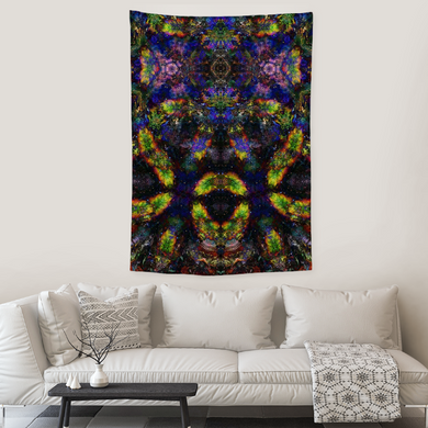 Nox Collection Tapestry / Festival Flag - Heady & Handmade
