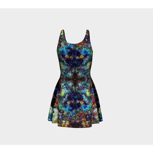Apoc Atomic Collection Sublimated Cut & Sew Psychedelic Dress - Heady & Handmade