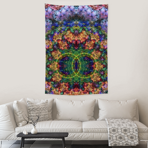 Starflow Collection Tapestry / Festival Flag - Heady & Handmade