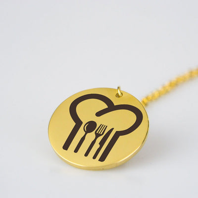 Chef Hat Necklace