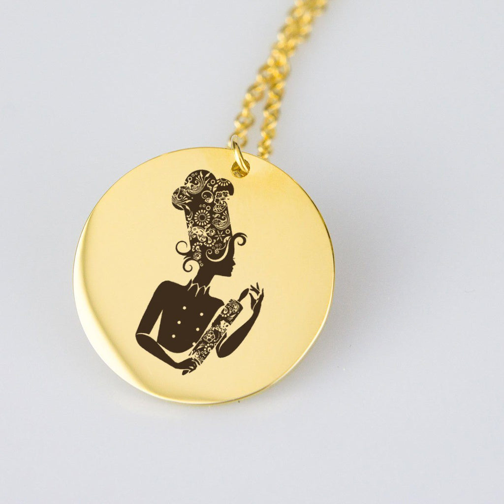 Funky Chef Necklace