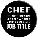 Chef Miracle Worker Job Title Profession Popsocket