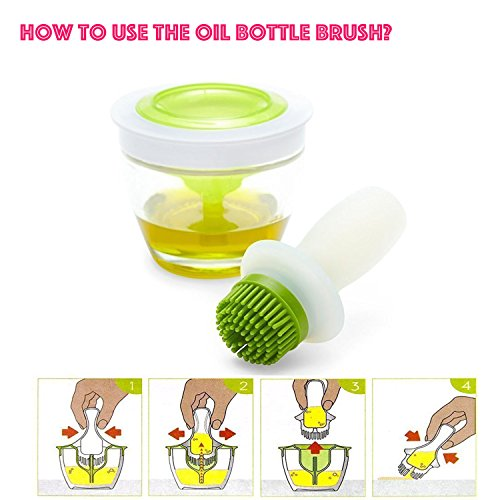 Silicone Brush and Glass Bowl Set