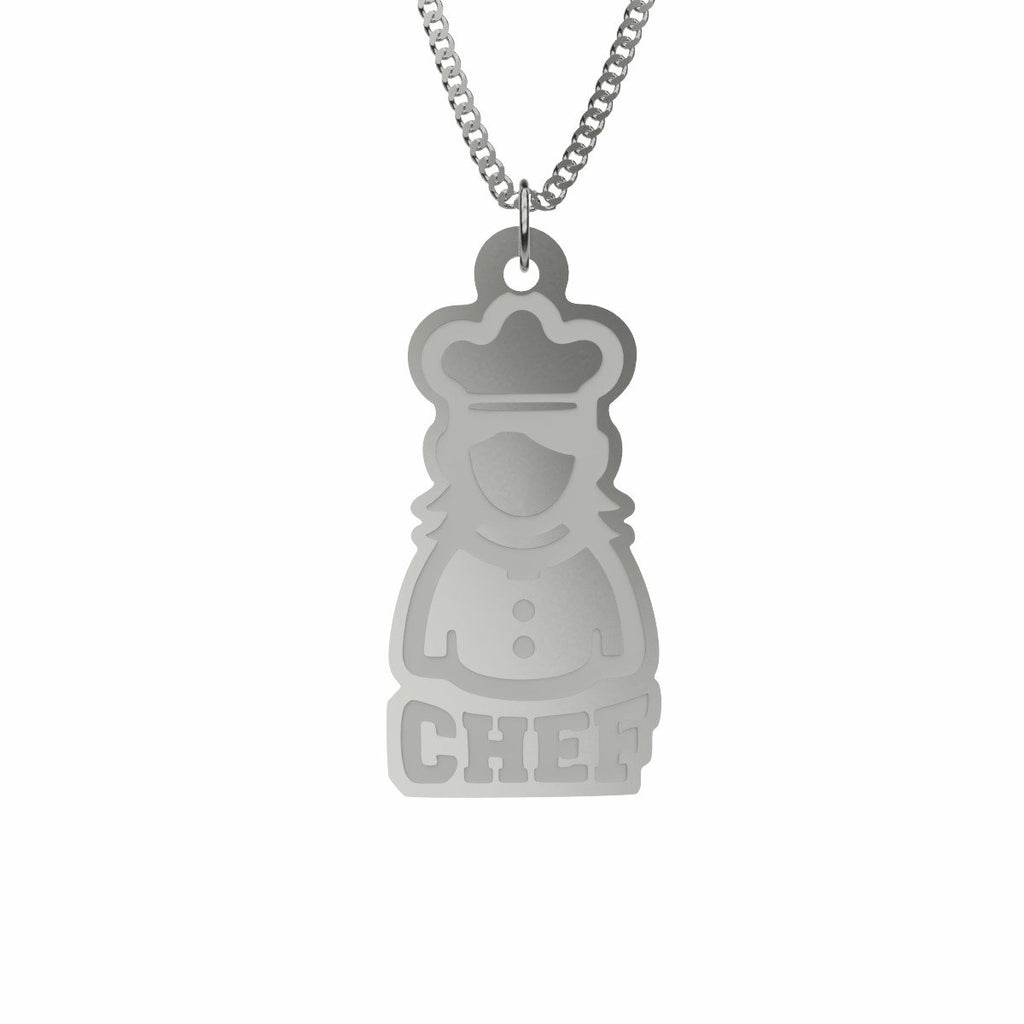 Cute Chef Necklace
