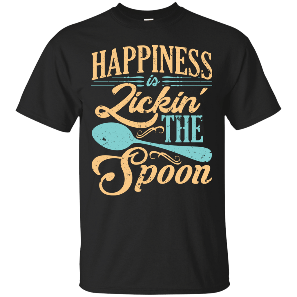 Happiness is Licking the Spoon T-Shirt