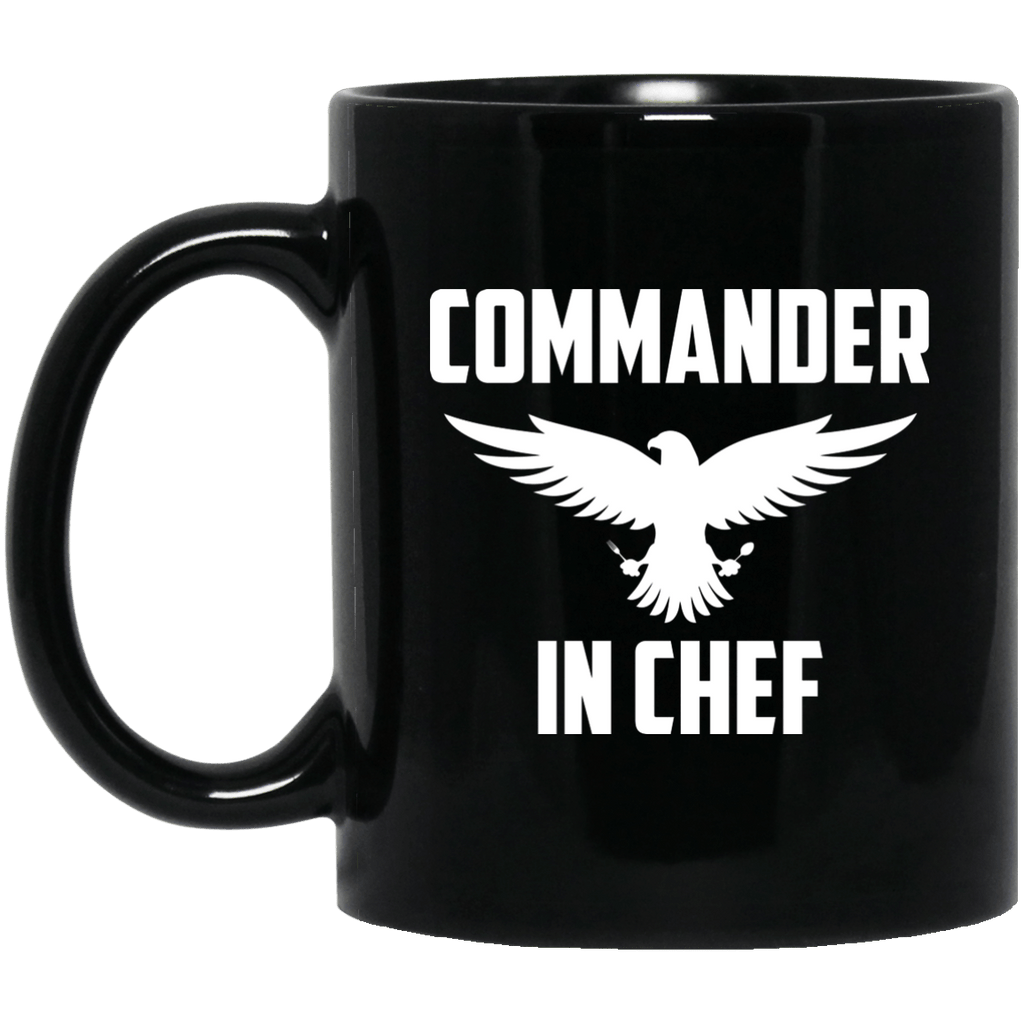 Commander in chef Black Mug