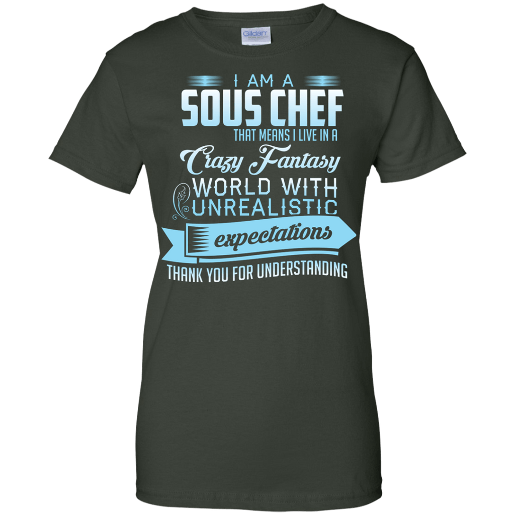 Sous Chef Expectations Ladies T-Shirt