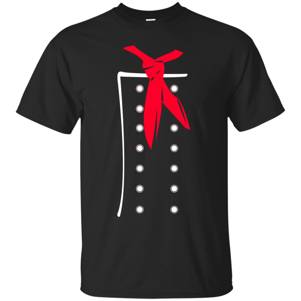 Chef Scarf Red T-Shirt