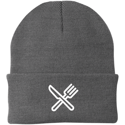 Knife and Fork Port Authority Knit Cap