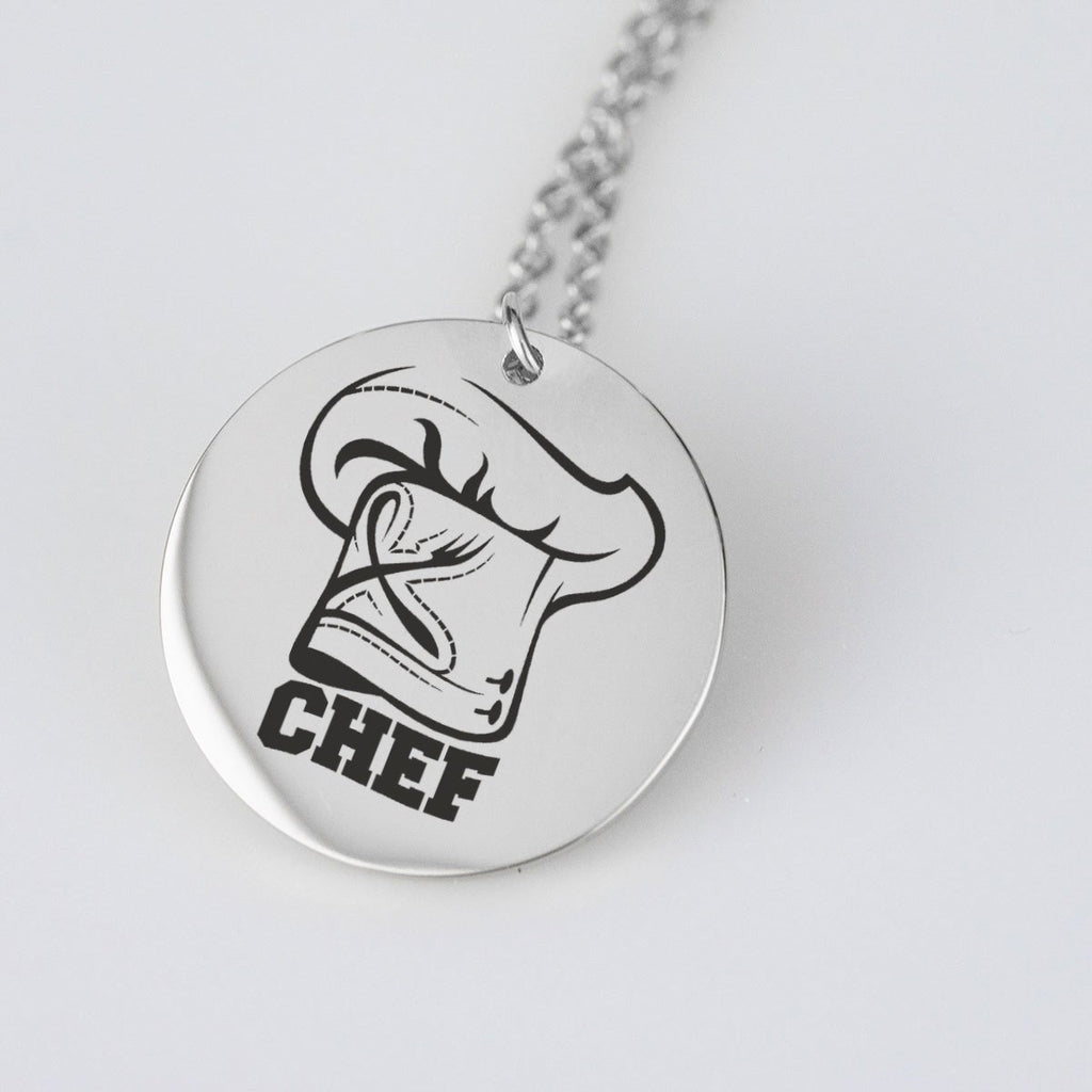 Chefs Hat Necklace