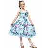 Bohemian Style Ruffle Decorated Dress As photo / 12 in Strawbie Collections - girls dress