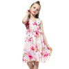 Chiffon Sleeveless Summer Dress  in Strawbie Collections - girls dress