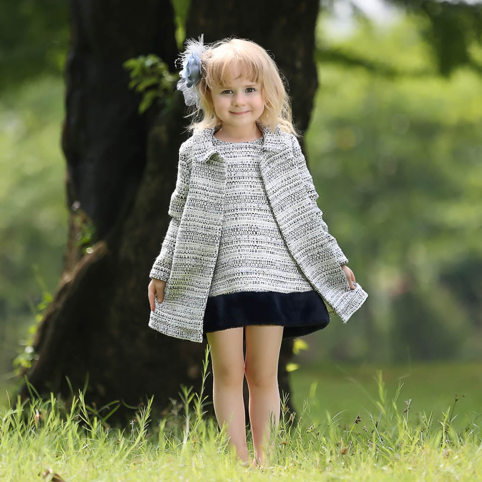 3 Piece Dress Set For Winter - dress set - - Strawbie Collections