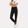 Sporting Sweatpants With Stripes For Young Ladies  in Strawbie Collections - Girls Bottoms