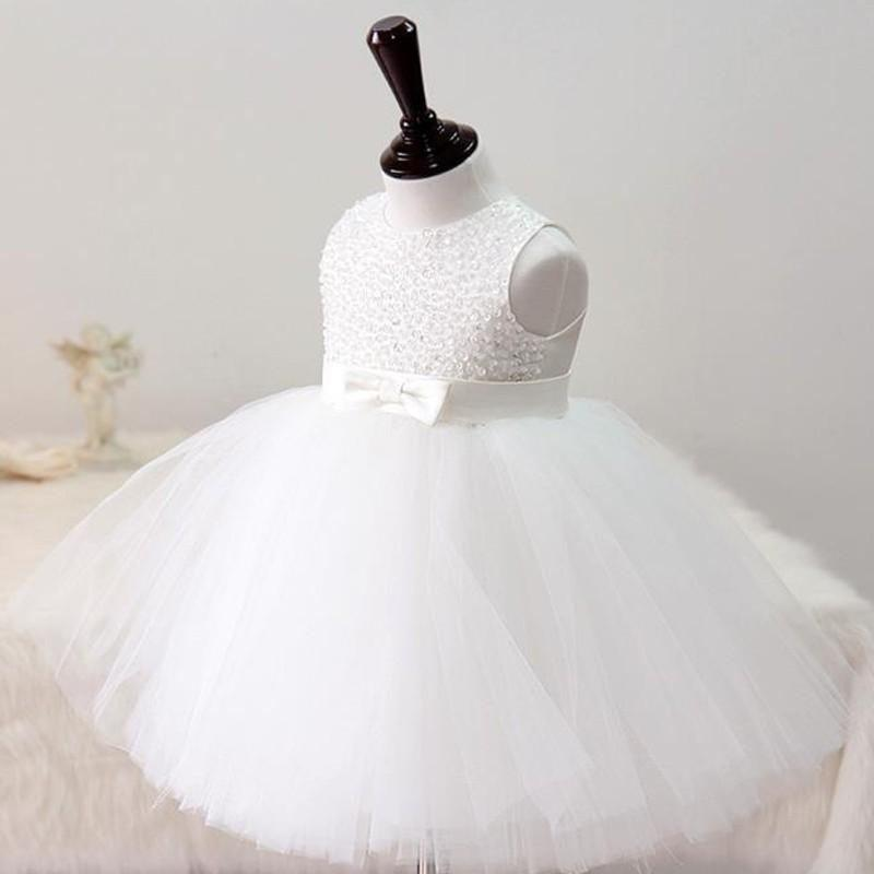 Gorgeous White Princess Dress  in Strawbie Collections - party wear