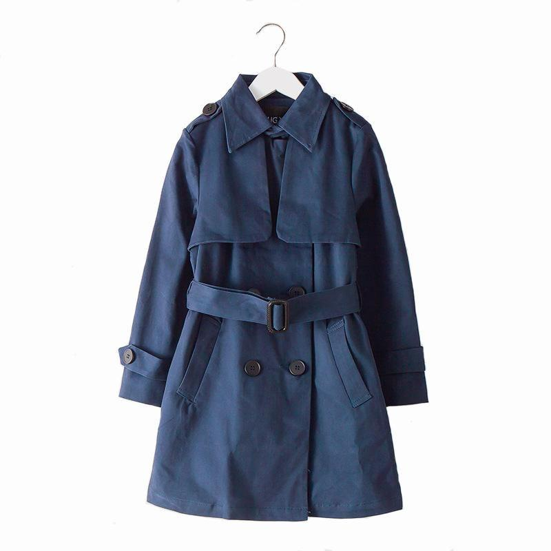 Long Autumn Trench Coat - Trench-Coats - Purple / 6 - Strawbie Collections