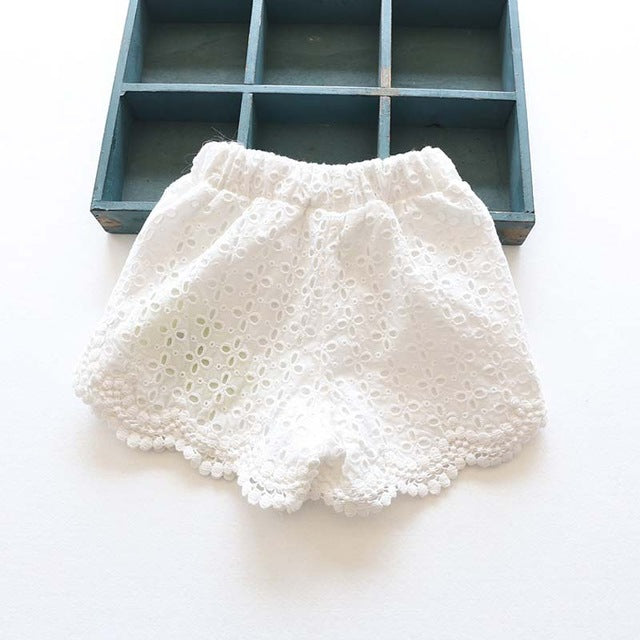 Princess Lace Shorts for Summer Spring