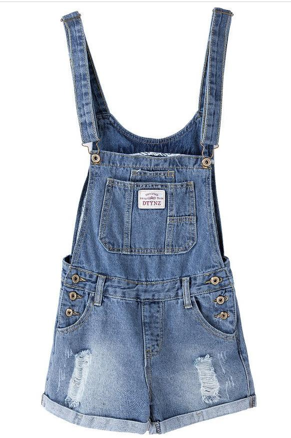 Denim Overalls For Teens wangs22601 / XXL in Strawbie Collections - girls overalls