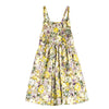 Floral Strap Sleeve Cotton Dress  in Strawbie Collections - girls dress