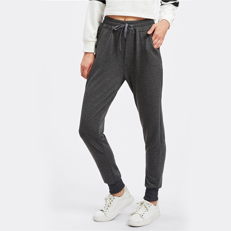 Casual Jogger Pants For Young Ladies  in Strawbie Collections - Girls Pants