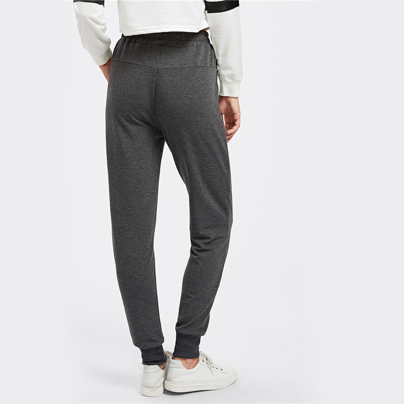 Casual Jogger Pants For Young Ladies - Girls Pants - - Strawbie Collections